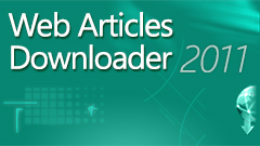 Web Articles Downloader 2011