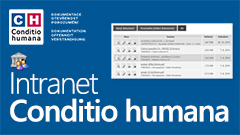Conditio humana - Intranet 2013