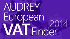 AUDREY European VAT Finder 2012