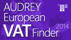 AUDREY European VAT Finder 2014
