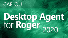 CAFLOU Desktop Agent for Roger 2020